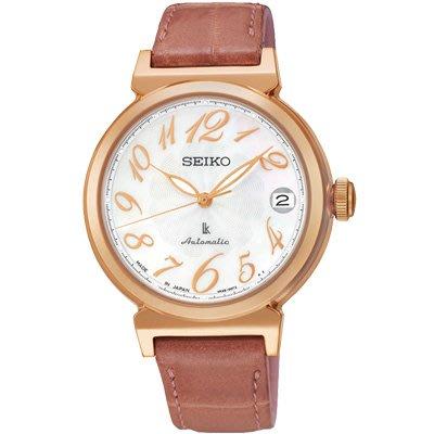 可議價.「1958 鐘錶城」SEIKO精工錶 LUKIA 優雅時尚機械腕錶(SRP868J1)-珍珠貝33mm