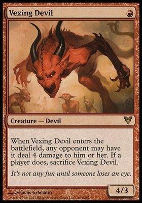 魔法風雲會 Vexing Devil 惱人魔鬼 英文