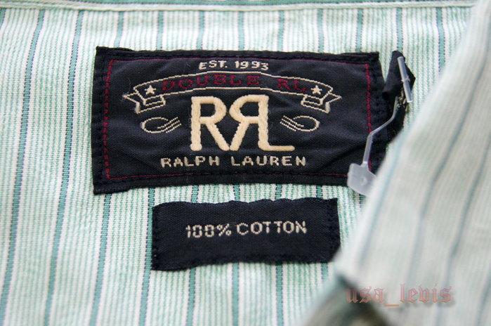【美國LEVIS專賣 】Ralph Lauren RRL Double RL Western Shirt M號225美金