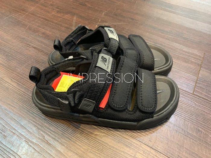 【IMPRESSION】NEW BALANCE 韓系 男女 復古 韓限 運動涼鞋 SD3205EBB 現貨