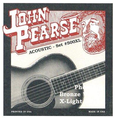 造韻樂器音響- JU-MUSIC - John Pearse 美製 木吉他 民謠吉他 弦 磷青銅 JPXF-500XL (10-47)