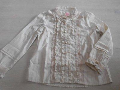 日本 axes femme 童裝 宮廷風襯衫  M(110~120)