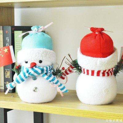 好物多商城 迷你圣誕雪人儲蓄罐 圣誕禮品送女友兒童可愛圣誕樹裝飾節日布置