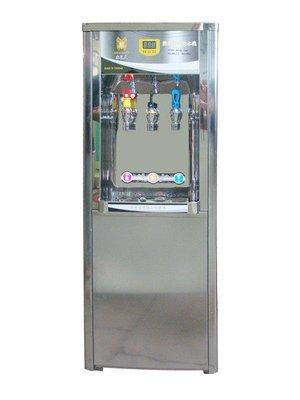 力巨峰GF-3013 立式液晶冰溫熱3溫RO逆滲透飲水機13350元