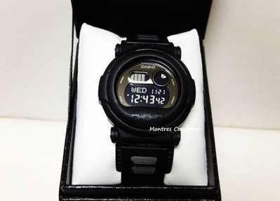 Montres Company香港註冊26年老店 卡西歐 CASIO G-Shock 復刻版 漢堡包 七年電池壽命 黑色 G-001BB-1 經典款 有現貨