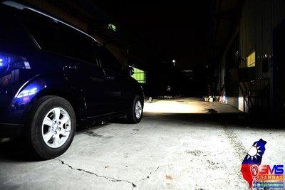 三菱 Outlander 奧連德 霧燈 魚眼 遠近魚眼HID大燈模組改裝 LED光圈 H11 防水 寬廣