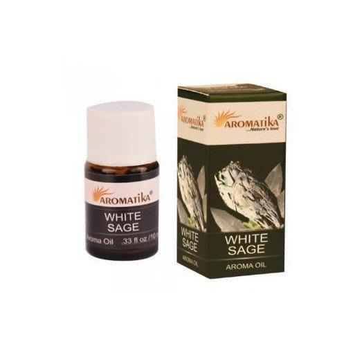 [綺異館]印度香氛精油 白鼠尾草 10ml aromatika white sage aroma 另售印度皂 印度香