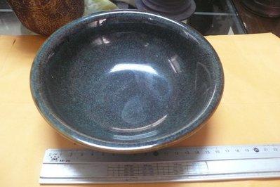 紫色小館88-----早期陶茶洗盤
