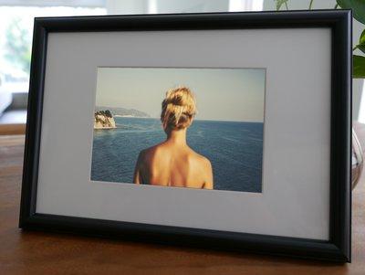 聚鯨Cetacea﹡Art【KLFZ-1611】seaside海邊/color色彩/inspiration靈感 畫框相框
