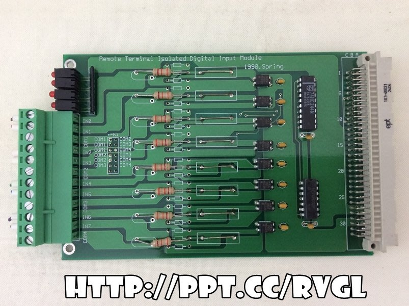 ept 103-40031 2404 Remote Terminal Isolated Input 板 1390