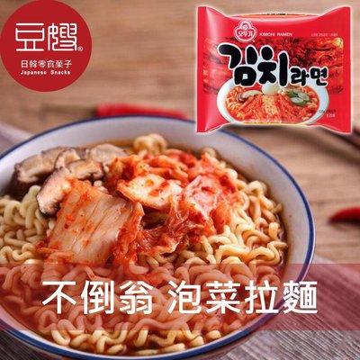 【豆嫂】 韓國泡麵 OTTOGI不倒翁 泡菜風味拉麵