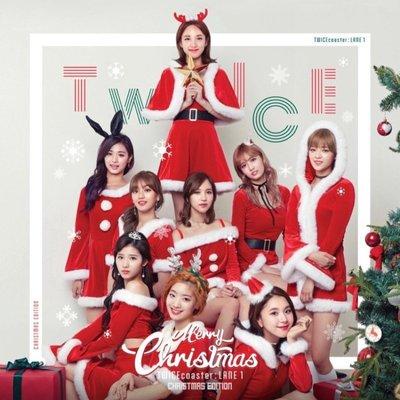 트와이스 TWICE  第3張迷你專輯:TWICECOASTER:LANE 1 聖誕特別版