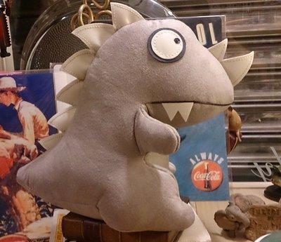 純手工縫製 可愛恐龍娃娃布偶 : 純手工 娃娃 恐龍 布偶 可愛 玩具 : waggle889