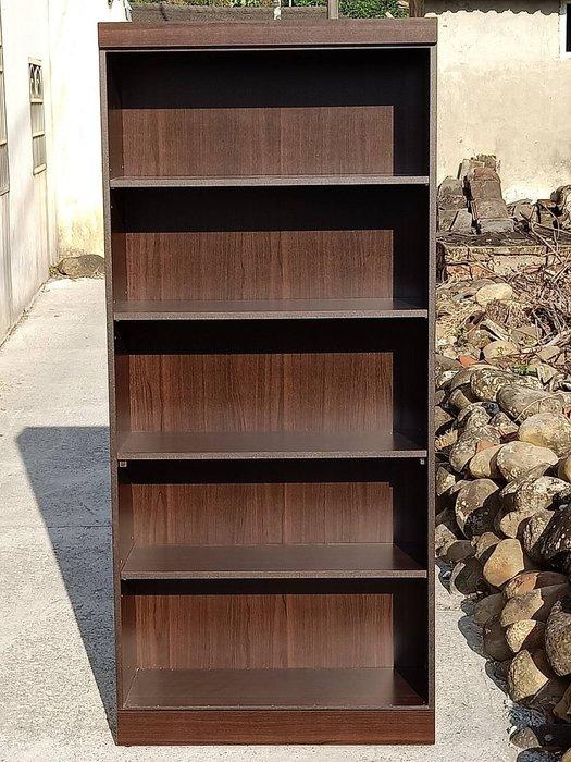 非凡精品家具 全新 羅密歐胡桃木色3尺開放式書櫃*展示櫃*置物櫃*收納櫃*櫥櫃*飾品櫃*收藏櫃*木櫃*格子櫃*服飾櫃