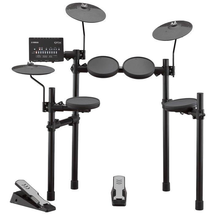 【六絃樂器】全新 Yamaha DTX402K  電子鼓 / 附鼓棒 鼓椅