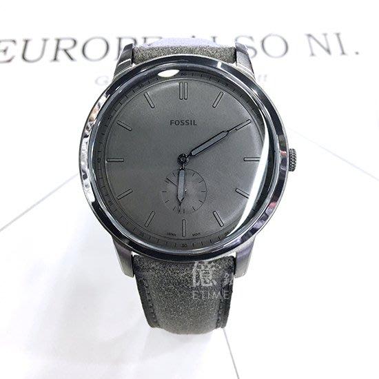 FOSSIL美國品牌都會簡約紳士超薄時尚腕錶FS5445公司貨
