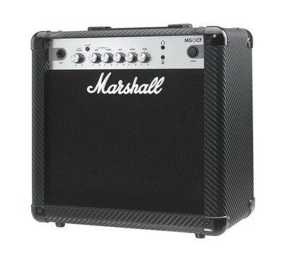 ☆ 唐尼樂器︵☆(公司貨原廠保固一年) Marshall MG15CF 15瓦電吉他音箱