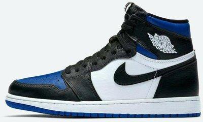 Nike Jordan 1 High GS 喬丹 AJ1 一代 1代 喬1 Royal Toe 藍黑腳趾 小閃電 黑藍 大童 女碼 女鞋 各尺寸 4Y-6Y