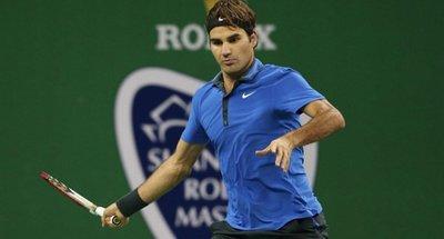 Roger Federer NIKE POLO衫 Nadal Djokovic Murray 網球衣 二手狀況極佳可開價