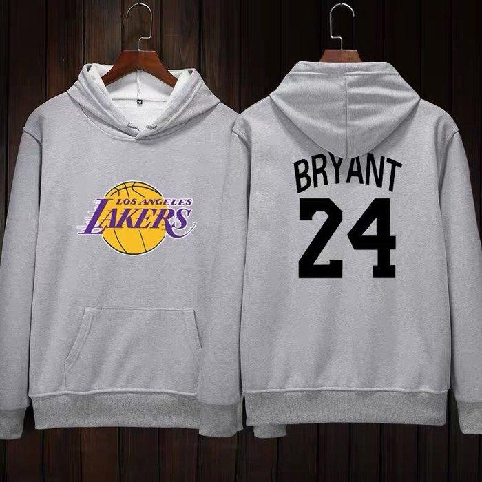 💖黑曼巴Kobe Bryant科比長袖連帽T恤上衛衣💖NBA湖人隊Adidas愛迪達運動籃球衣服大學純棉T男女987