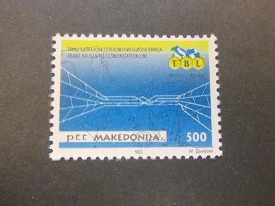 【雲品】馬其頓Macedonia 1993 Sc 13 set MNH 庫號#75333