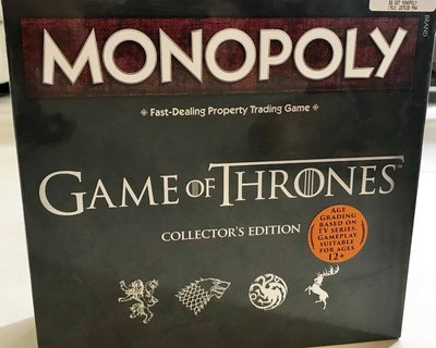 Monopoly Game of Thrones collector edition