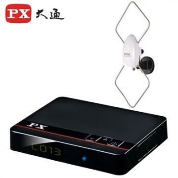 【含稅店】PX大通贈HDMI傳輸線 HDTV影音教主高畫質數位機上盒HD-8000+HDA-5000數位天線