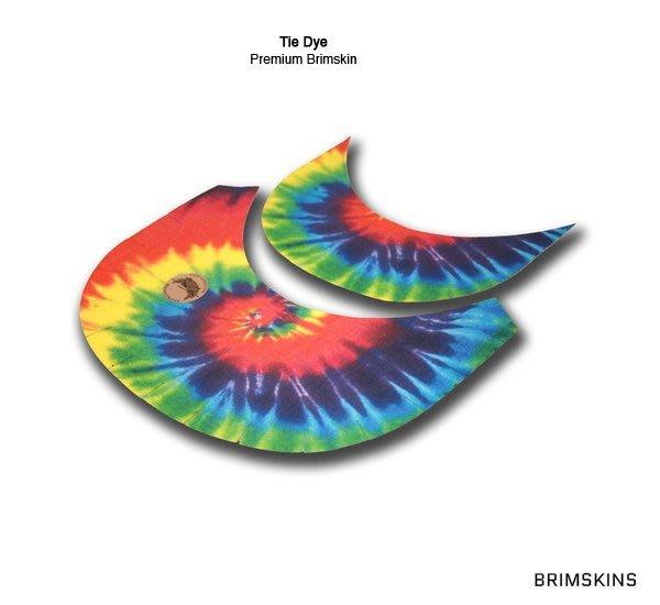 GOODFORIT / 美國Brimskins客製帽簷布材貼布/完美結合任一Snapback帽簷/Tie Dye暈染