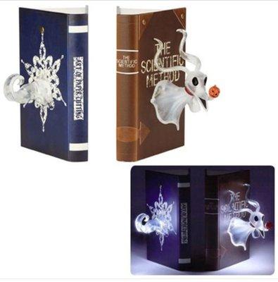 怪誕城之夜 Nightmare Before Christmas Zero Bookends + Light Up