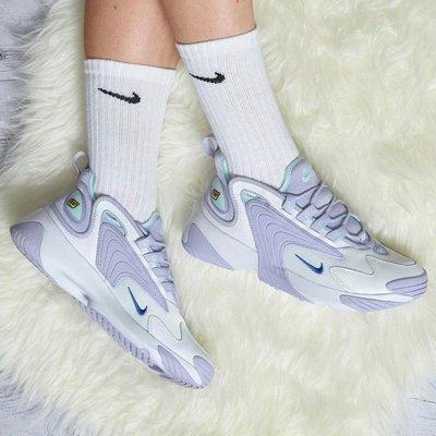 【Cheers】Nike Women Zoom 2K 復古 老爹鞋 女鞋 粉紫 女鞋 AO0354-103 歐美限定款