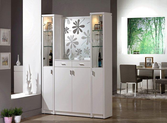 [歐瑞家具] CH341-1米洛斯 4.7尺玄關屏風鞋櫃/系統家具/沙發/床墊/茶几/高低櫃/子母床/訂作家具/1元起