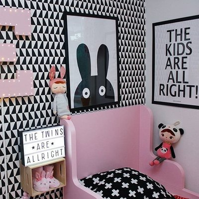 Sis 歐美 北歐 框畫 兒童房 壁畫 簡約 掛畫 時尚 嬰兒房 室內設計 背景 IKEA 家飾品 (43*63)