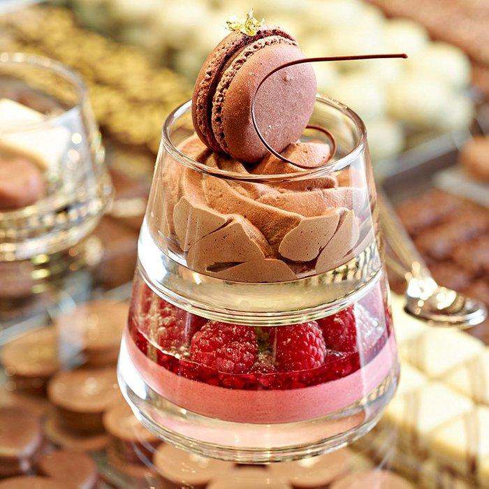 比利時進口Durobor 創意玻璃碗四件套 沙拉甜品碗美味金字塔套裝