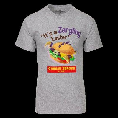 【丹】暴雪商城_StarCraft Cheese Zurger Hot Topic Fan Art 星海爭霸 T恤