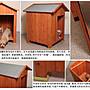 人氣熱賣款! M001型 大型犬木制狗屋狗窩寵物木屋別墅 防雨防曬