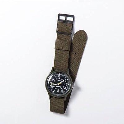 日本限定款 軍用錶POPEYE x TIMEX CAMPER WATCH 限量500支 日本製