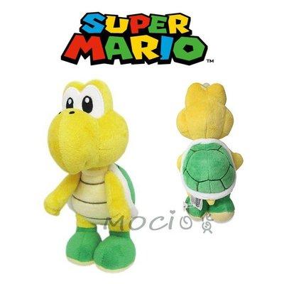 日本正版 超級瑪利歐 瑪莉兄弟 烏龜 綠烏龜 娃娃 玩偶 公仔 玩具擺飾S【MOCI日貨】瑪莉歐 任天堂