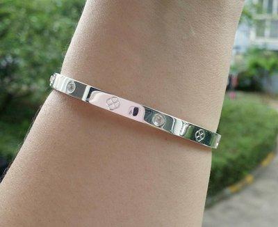 嗨,寶貝銀飾珠寶* 925純銀☆999純銀 時尚 造型 個性 氣質 橢圓形開口純銀手環 手鐲