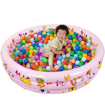 5Cgo 【批發】含稅會員有優惠 35642864803 寶寶充氣游泳池海洋池池釣魚池沙池兒童遊泳池戲水池130cm