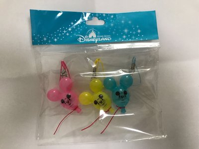 Disneyland 迪士尼米奇氣球掛飾,適盒 Azone ,Re-ment  超市 ,Licca ,Jenny ,造型
