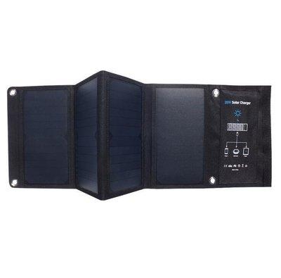 【愛 軒】 28W SUNPOWER太陽能折疊包 充電包 太陽能板 5V快充 手機USB充電器 防水 太陽能折叠充電器15734