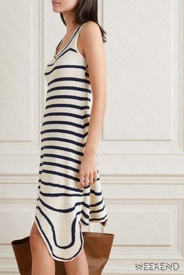 【WEEKEND】 折扣 LANVIN 線條 不規則裙襬 背心裙 短洋