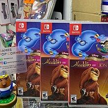 (全新現貨) NS game Disney Classic Games: Aladdin♂️ and The Lion King (日英文)