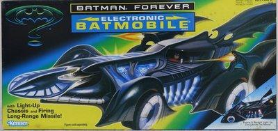 全新 已拆檢 KENNER DC BATMAN 蝙蝠俠 ELECTRONIC BATMOBILE 電子蝙蝠車