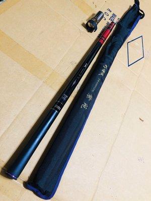 日本製 GAMAKATSU がま渓流 MULTIFLEX 紫苑 硬中硬 720 24尺 溪流竿 八工竿 免運費可刷卡