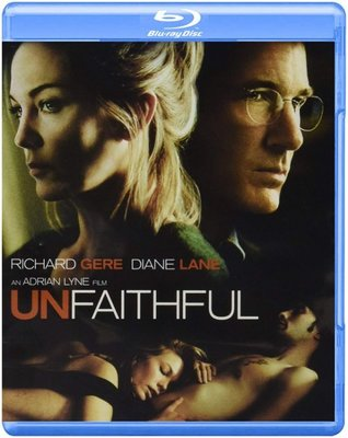 BD 全新美版【出軌】【Unfaithful】Blu-ray 藍光 李察基爾 黛安蓮恩