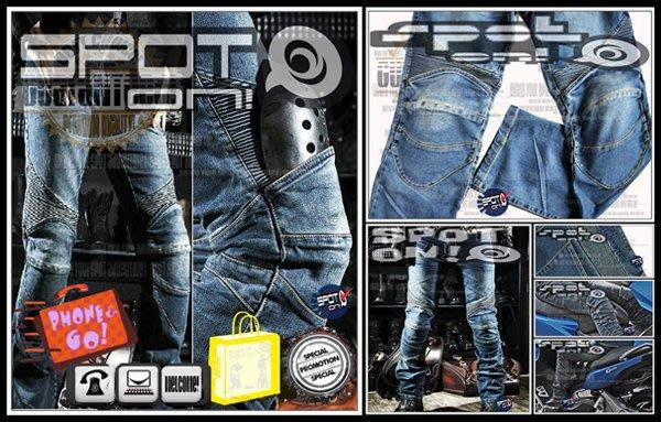 Spot ON - RPMCN R2 A 新款立體剪裁牛仔褲 防摔褲.四件式可拆新款CE護具升級版! VINO KIWI