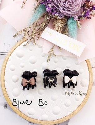 ~*BlueBo*~Korea 韓國飾品  可愛蝴蝶結造型小鯊魚夾/小抓夾~1.5cm