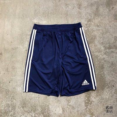 (貳柒商店) adidas Tiro 19 Training Shorts 男款 藍色 三線 短褲 運動褲 DT5173