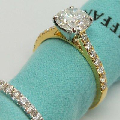 求婚美國莫桑鑽 摩星石1.5克拉卡家雙...